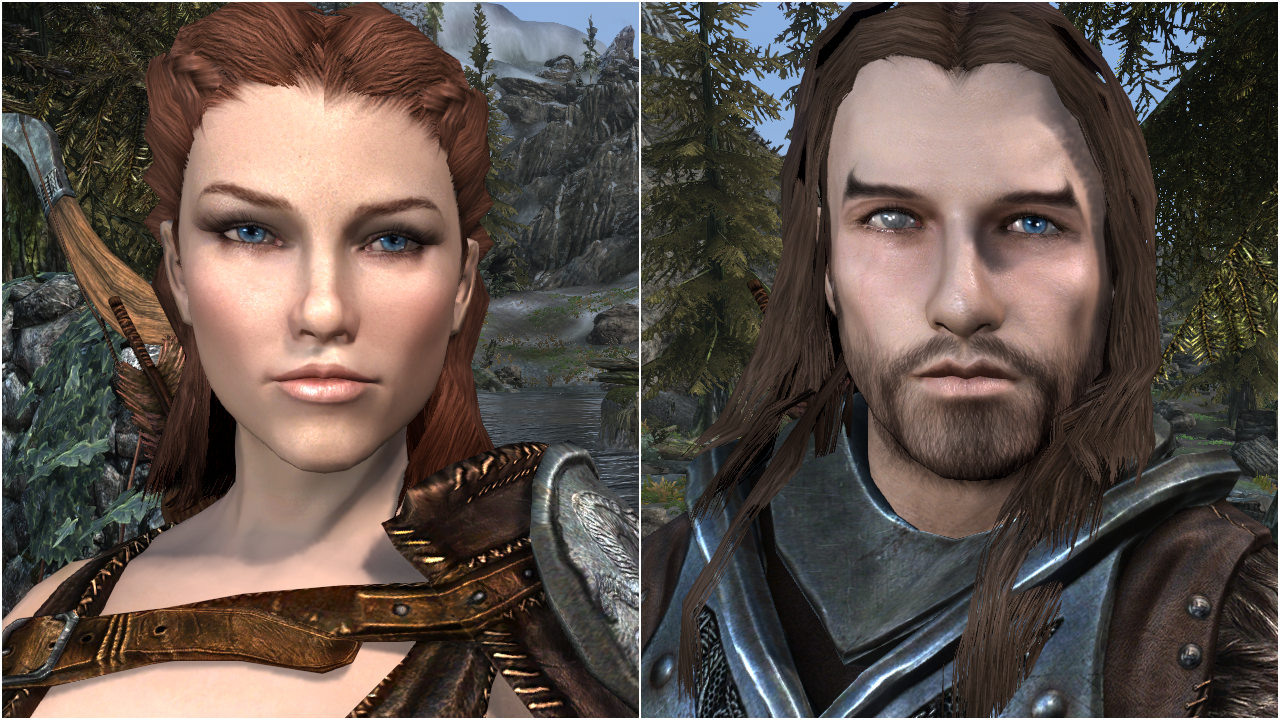 Skyrim Special Edition mod - Total Character Makeover