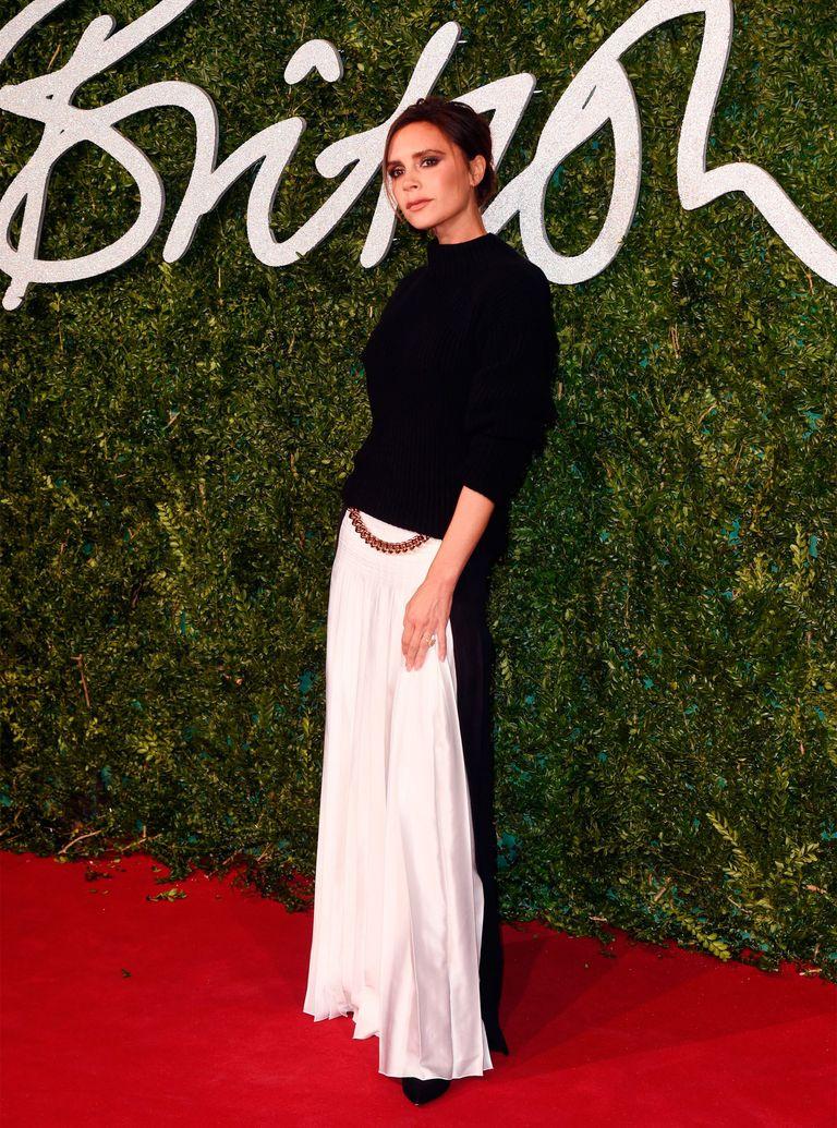 Victoria Beckham at the British fashion Awards 2014