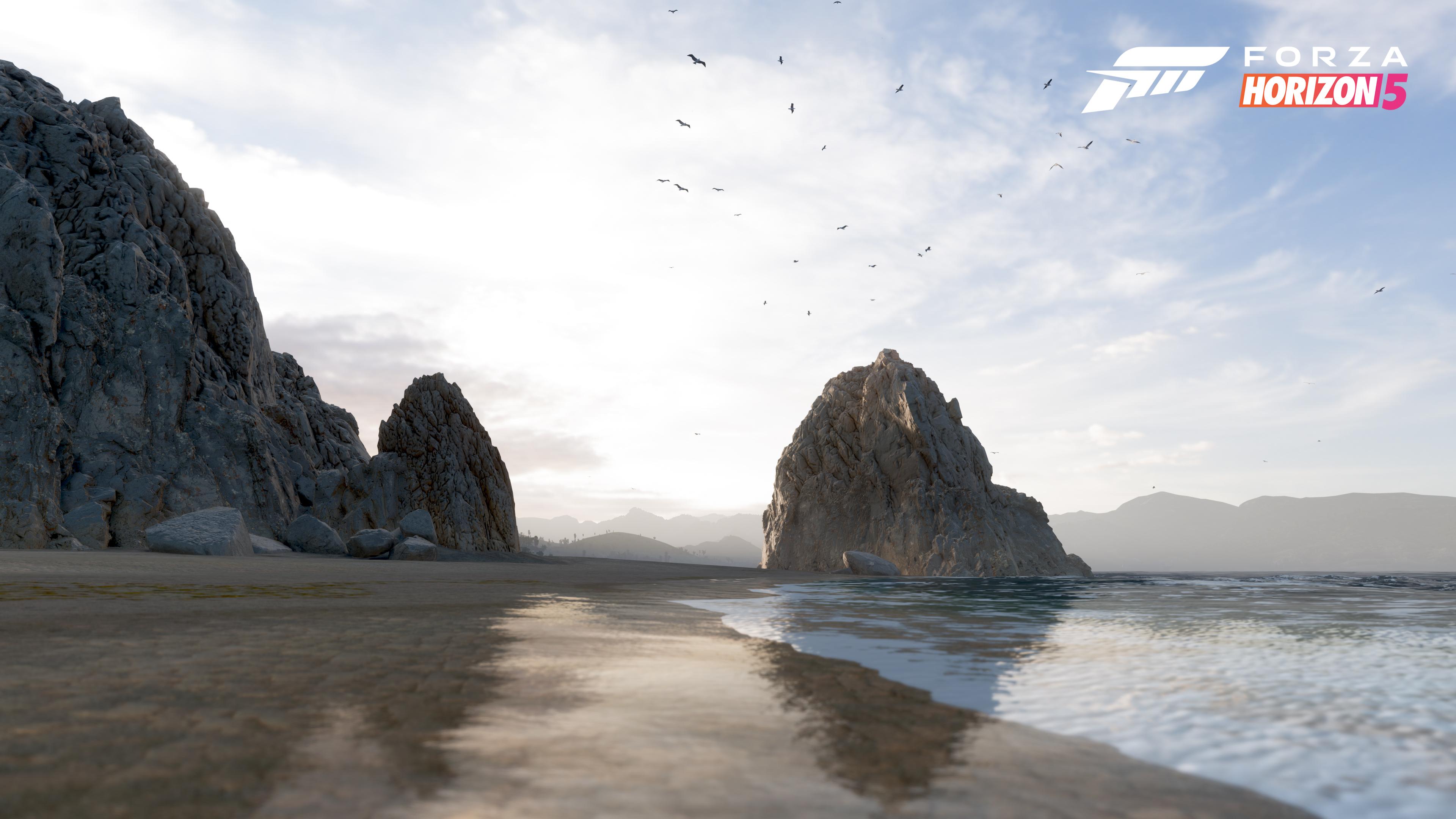 Forza Horizon 5 rocky coast
