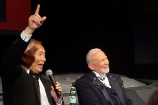 George Takei and Buzz Aldrin in Special Salute