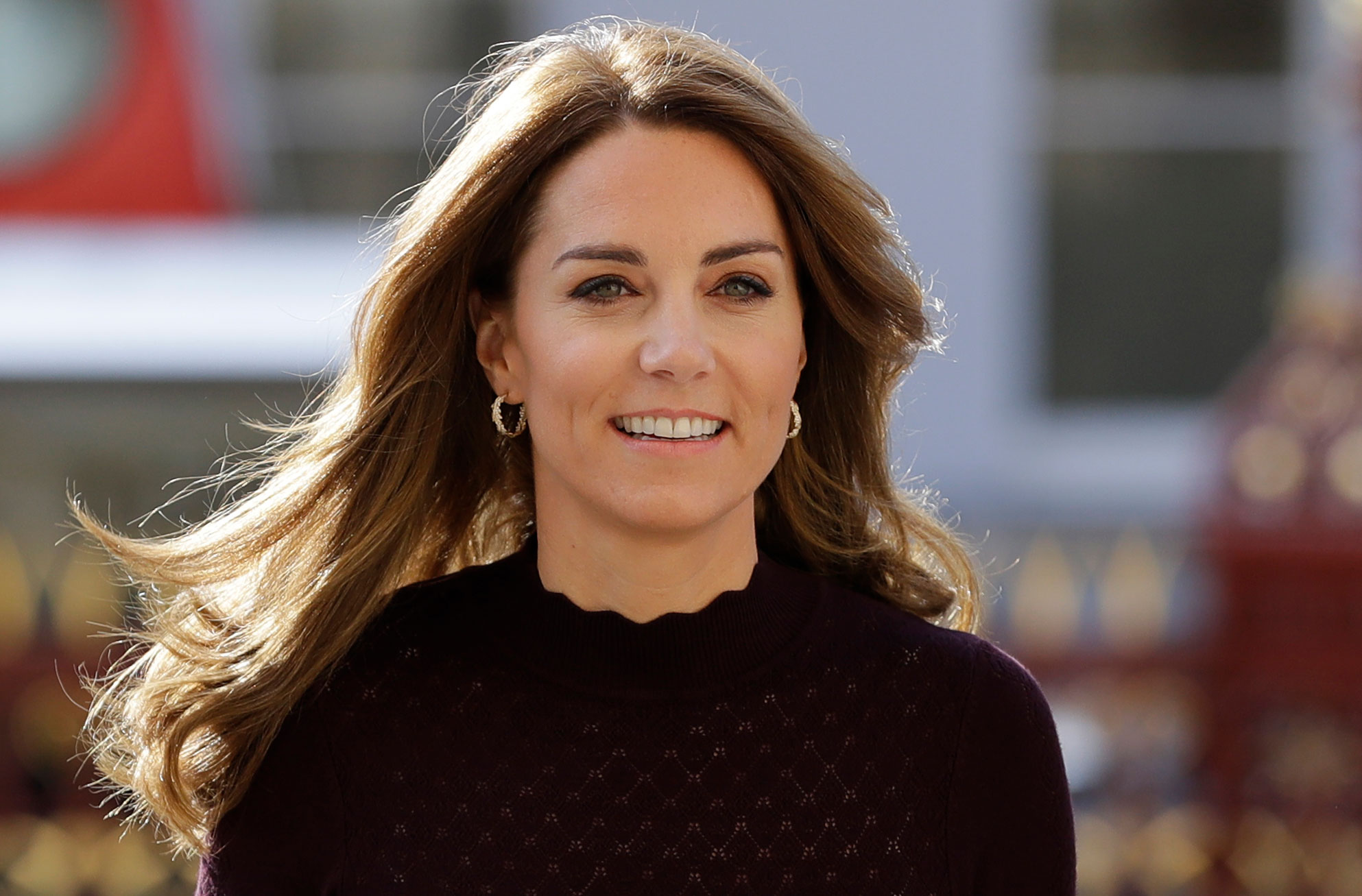 The Duchess of Cambridge stuns in high street fashion as she steps out at National History Museum