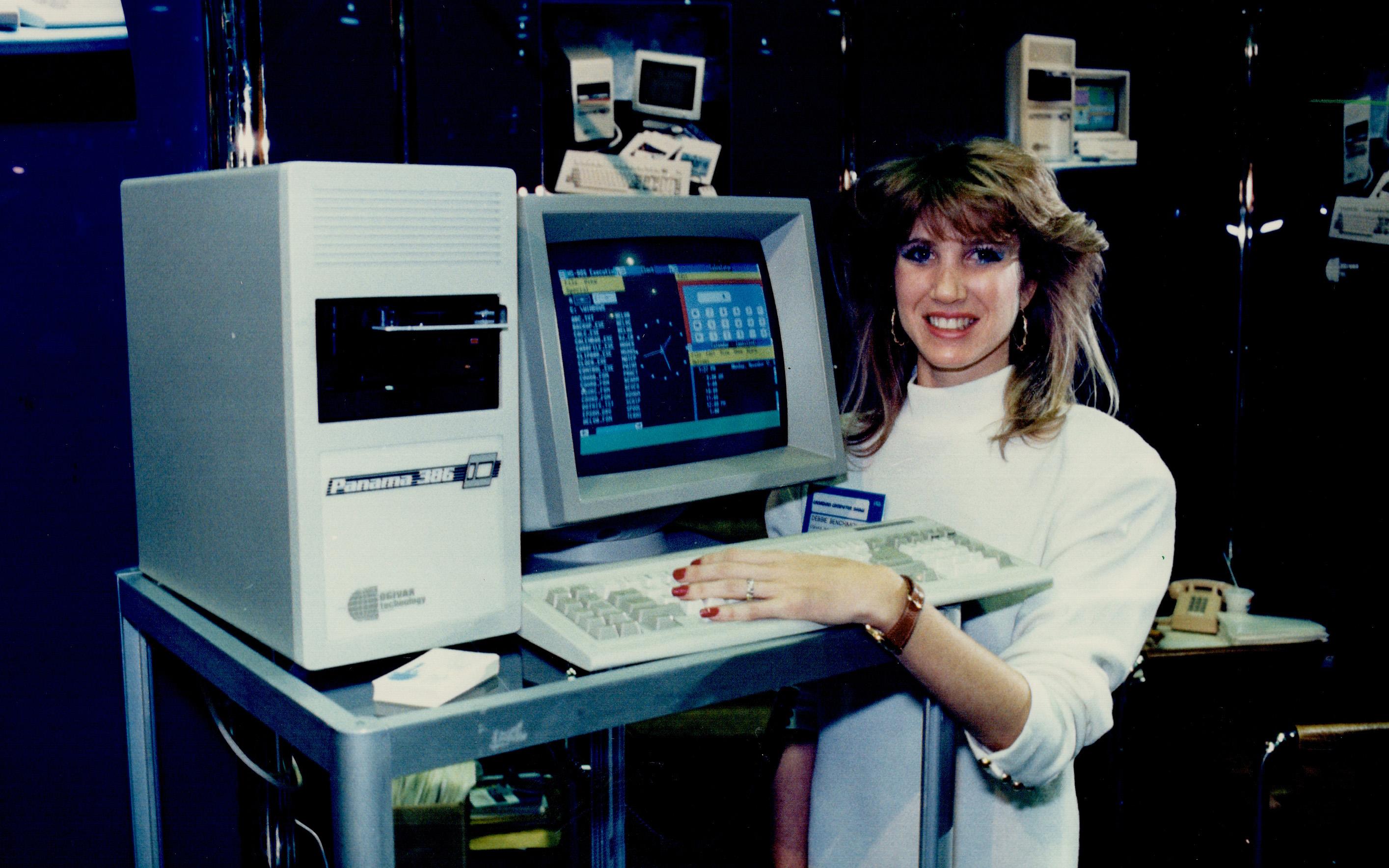 Windows running on an Ogivar computer