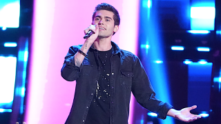 Austin Percario performs on The Voice