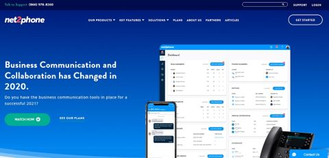 net2phone homepage