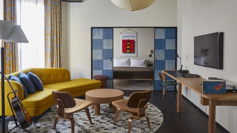 Bedroom in Ace Hotel in Kyoto