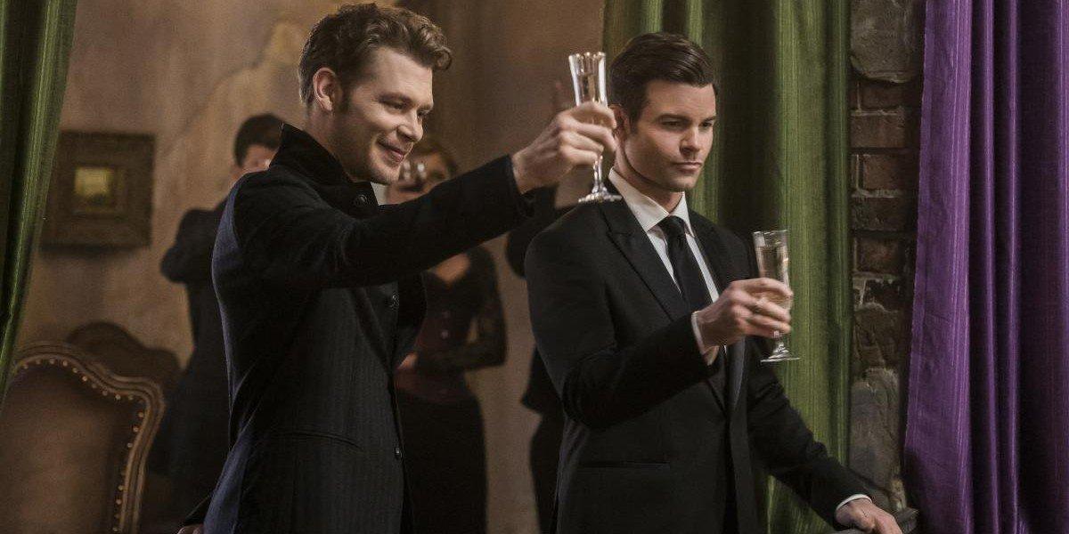 Joseph Morgan and Daniel Gillies in The Originals