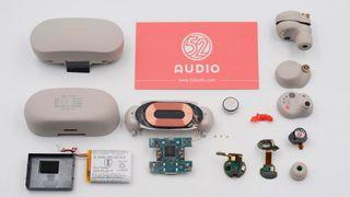 Sony WF-1000XM4 teardown shows the wireless earbuds' innards