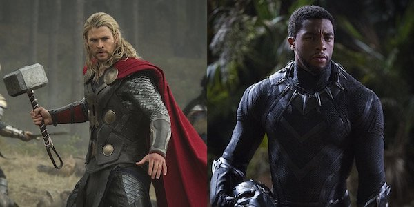 Thor and Black Panther