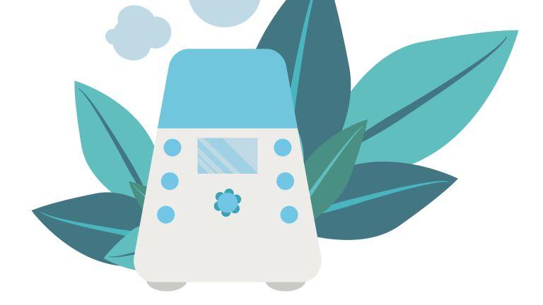 air purifier illustration