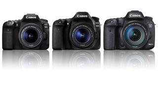 Canon EOS 90D vs EOS 80D vs EOS 7D Mark II