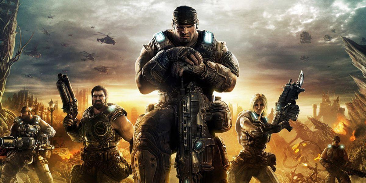 Gears of War cover art