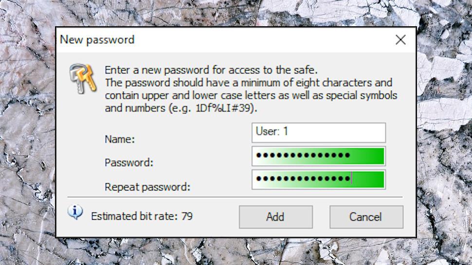 Encryption Passwords