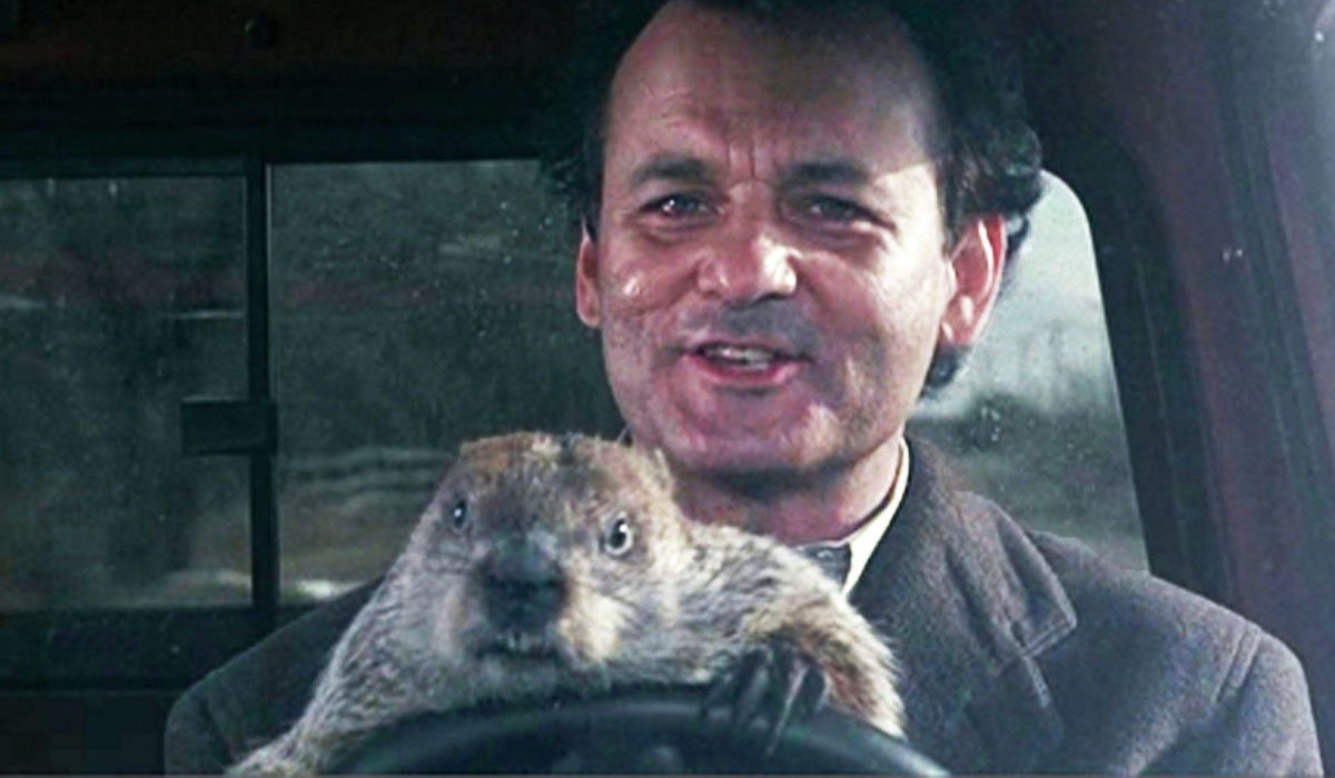 Bill Murray in Groundhog's Day