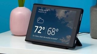 Amazon Fire Tablet Echo Show mode