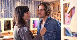 Eva Falco and Liam Donovan in Hollyoaks