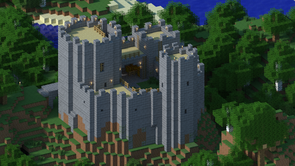 Minecrafter Builds Historically Accurate Castle Complete With