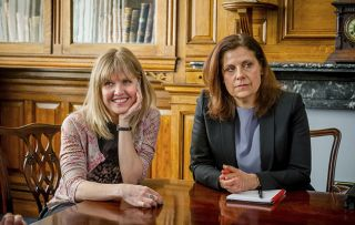 Rebecca Front Love Lives and Records