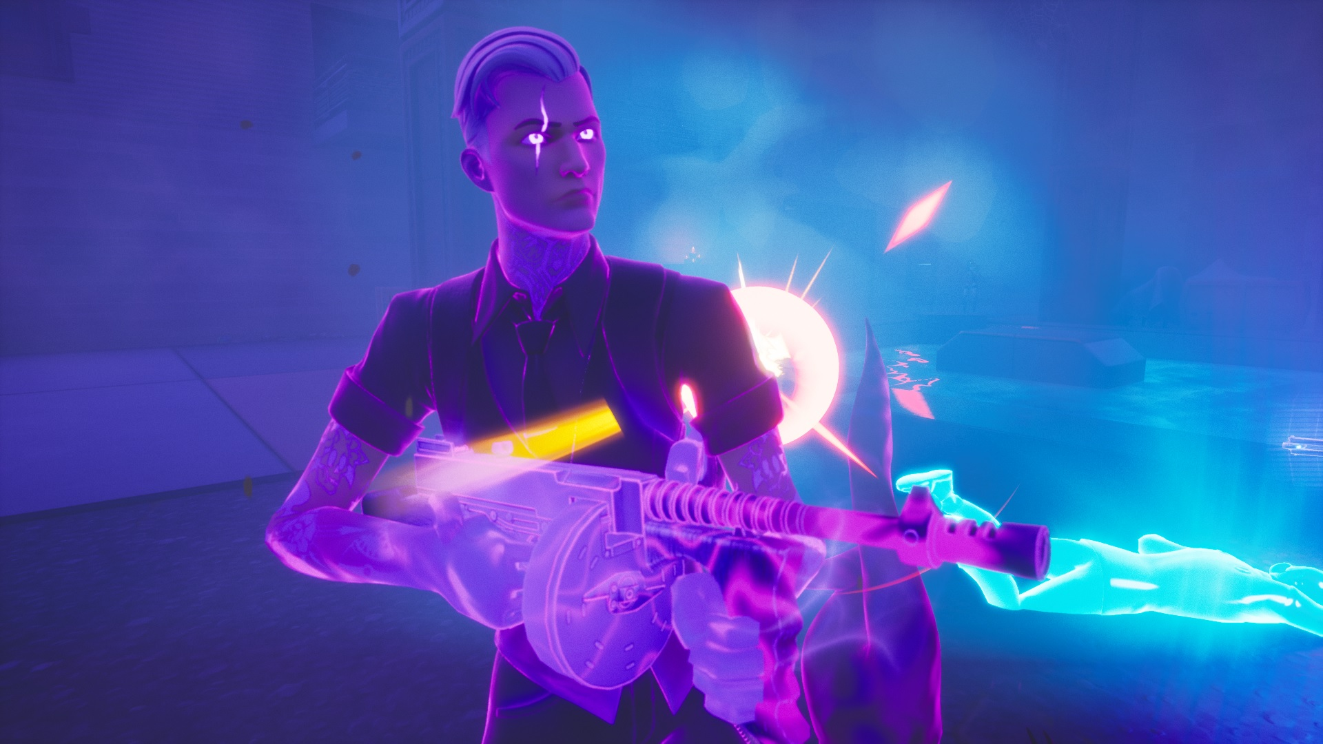 How To Eliminate Shadow Midas And Get His Mythic Drum Gun In Fortnite Pc Gamer