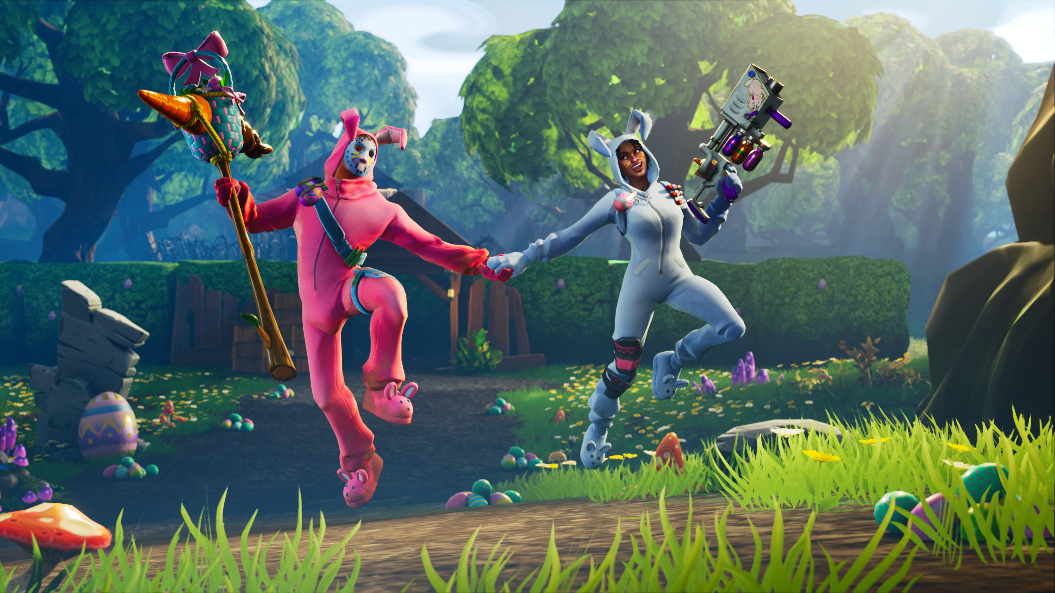 Fortnite Easter Eggs For Season 5 Involve Old Mascots Hints Of New