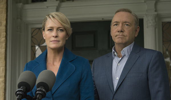 frank and claire House of Cards season 4