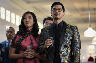 Pictured (L-R): Olivia Liang as Nicky Shen and Jon Prasida as Ryan