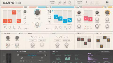 Native Instruments Super 8 review | MusicRadar
