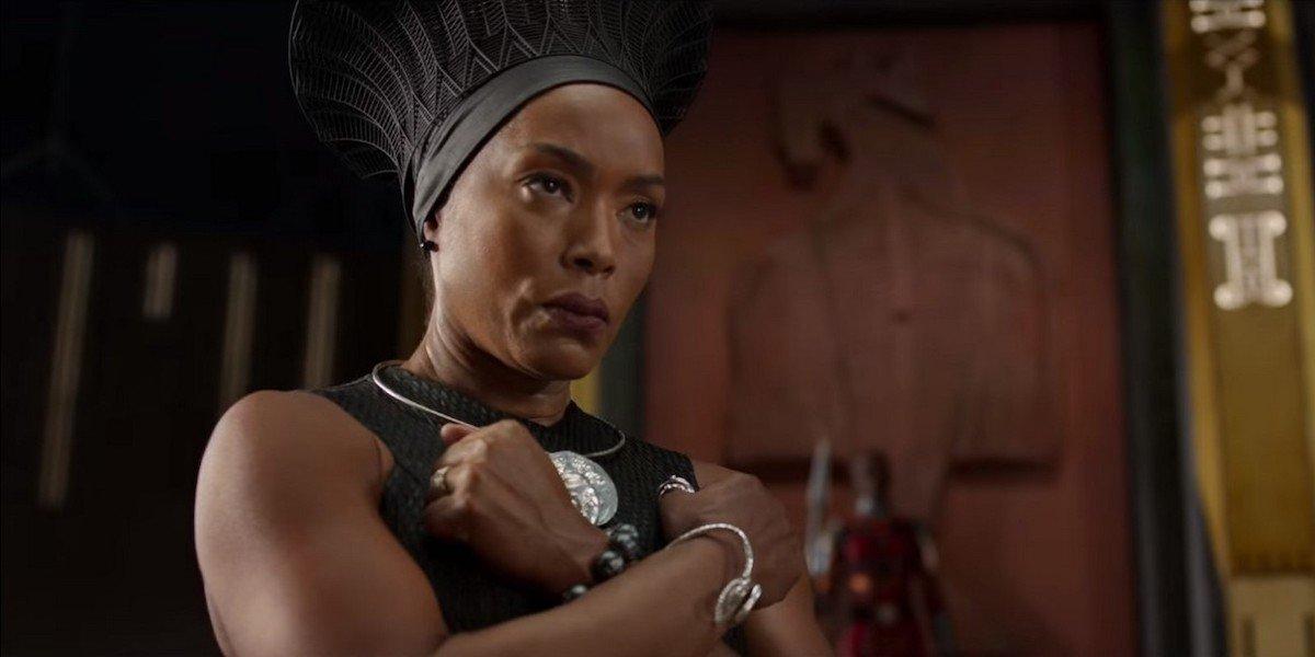 Angela Bassett as Ramonda in Black Panther