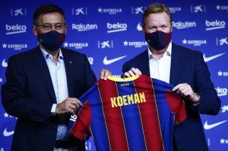 Spain Soccer Barcelona Koeman