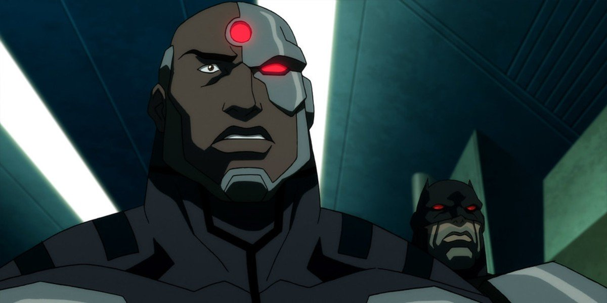 Michael B. Jordan as Cyborg/Victor Stone in Justice League: The Flashpoint Paradox