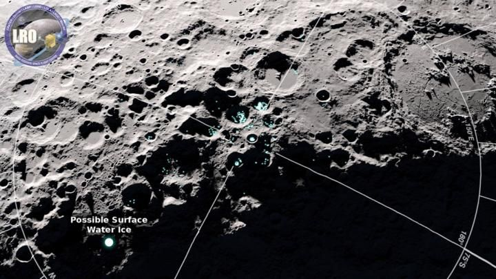 Water Hops All Around the Moon Over the Course of a Lunar Day
