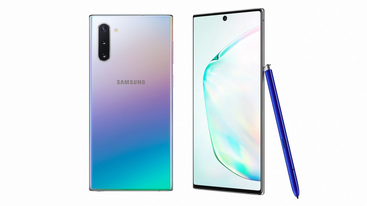 Samsung Note 10, Galaxy Note 10+ unveiled with all-screen design