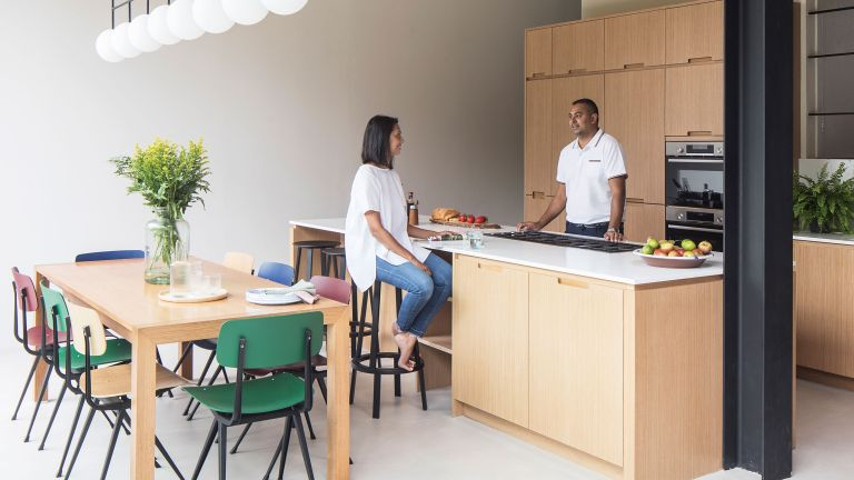 Veerusha Diah and Yogesh Bhola's extended Woodford Green home is an uber-stylish space to hang out