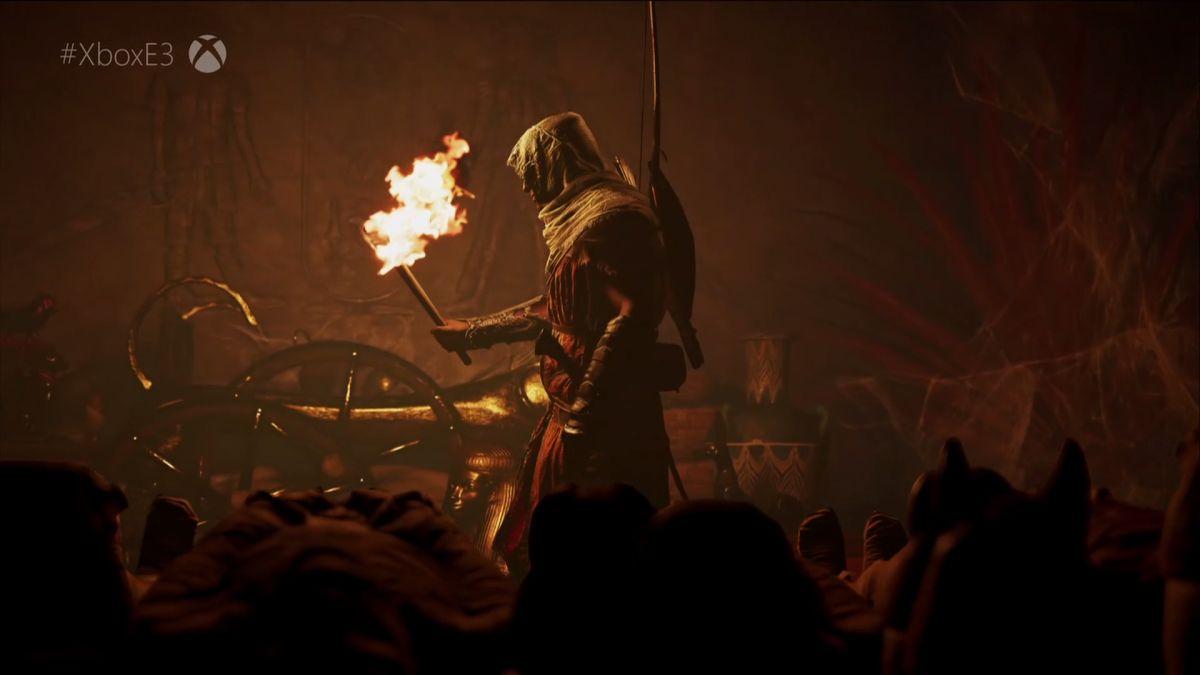 Assassin's Creed: Origins gameplay debuts at Microsoft's ...