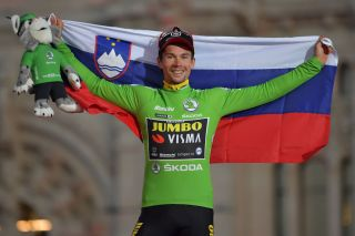 Primoz Roglic won the points classification in addition to the overall Vuelta a Espana