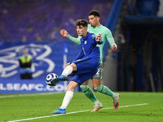 Kai Havertz against Everton