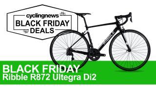 Ribble R872 black friday road bike deal