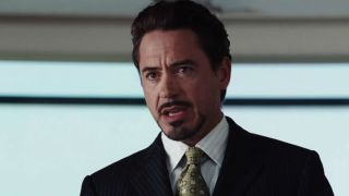 Robert Downey Jr. as Tony Stark in Iron Man (2008)