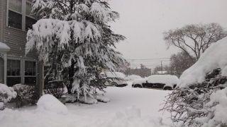 Secaucus, NJ snow
