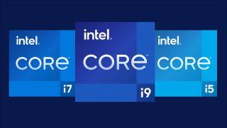 Intel Rocket Lake 11th Gen logos