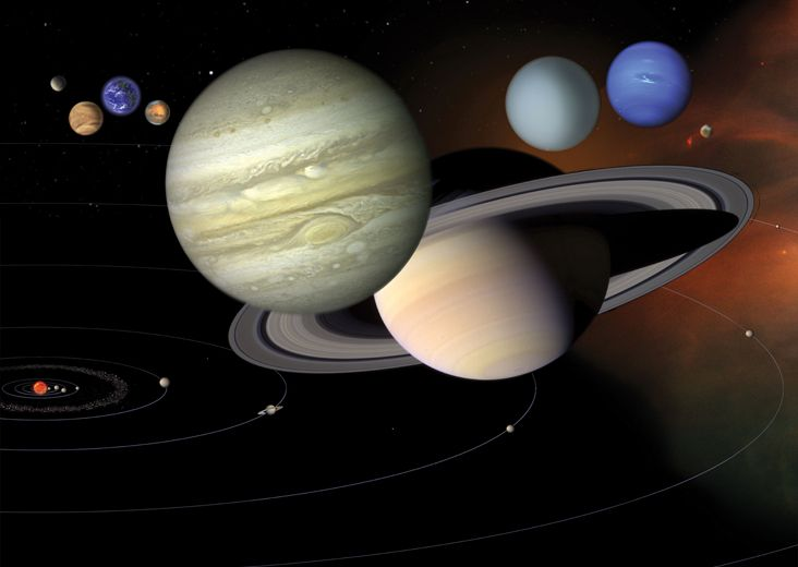 Solar System Facts A Guide To Things Orbiting Our Sun Space