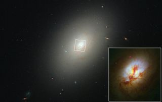 Old Galaxy Still Giving Birth to Baby Stars