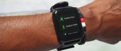 Workout modes on Realme Watch 2, including outdoor run and outdoor walk