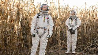 Jonathan Tucker as Bryan Beneventi and Riann Steele as Finola Jones in NBC's 'Debris'
