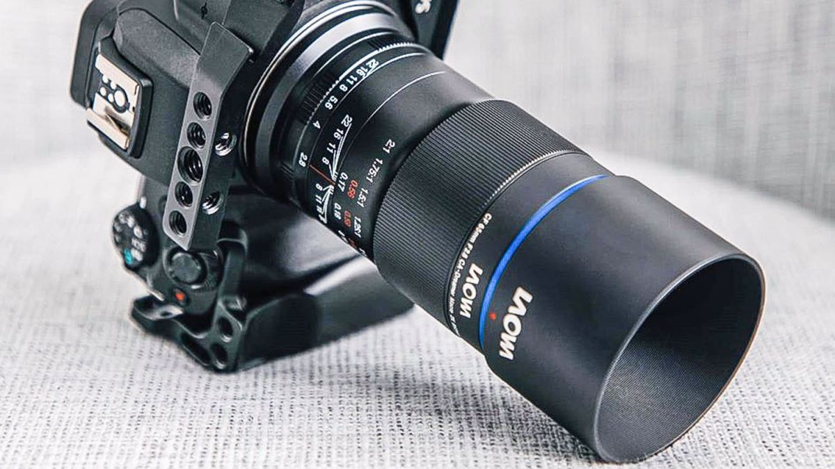 Laowa 65mm f/2.8 2x Macro APO gets in twice as close as other macro lenses