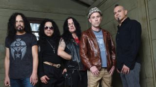 A press shot of Armored Saint