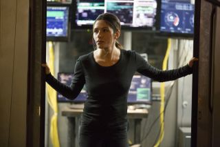 Sarah Shahi in 'Person of Interest.'
