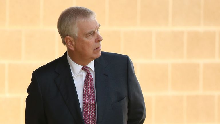 Prince Andrew will be depicted in the next season