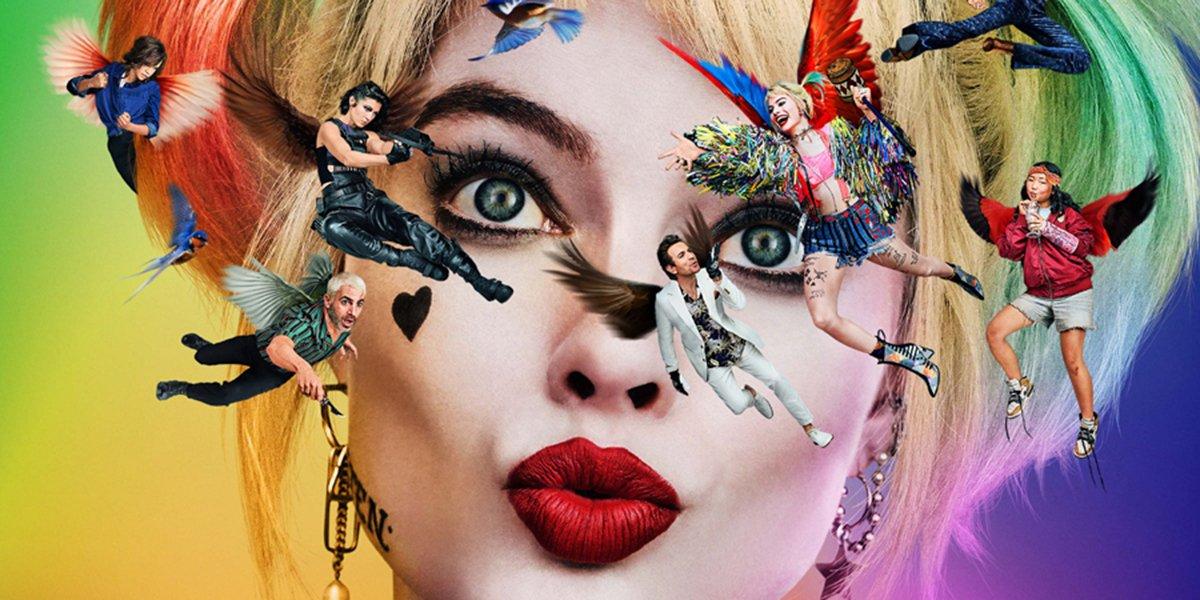 Birds of Prey poster with Margot Robbie
