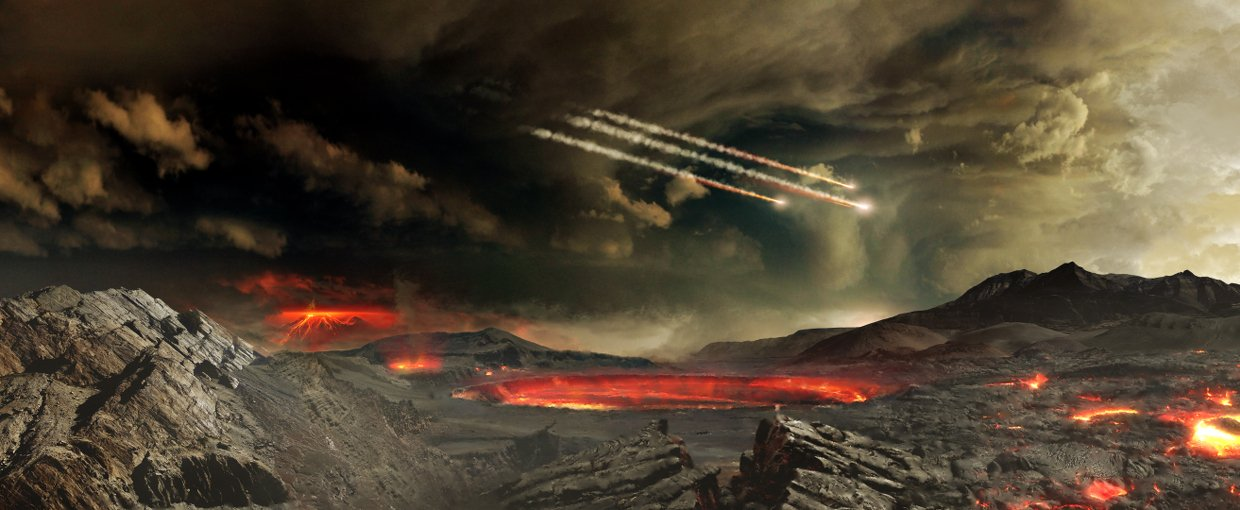 Meteorite Bombardment Probably Created Oldest Surviving Rocks on Earth |  Space