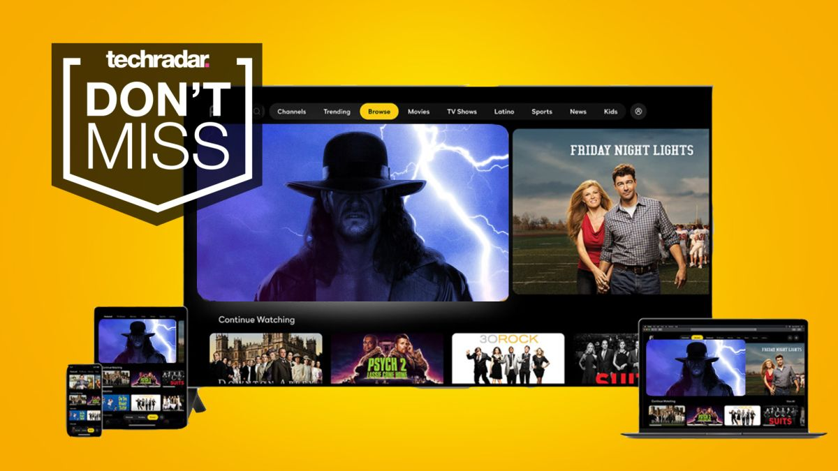 Peacock TV deal: rock bottom WrestleMania 37 bargain ends Friday